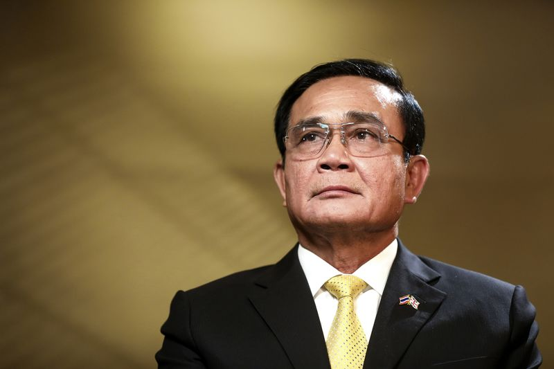 Thailand's Prime Minister PrayuthChan-Ocha