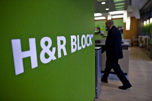 H&R Block Drops as U.S. Decision Scuttles HSBC Refund-Loan