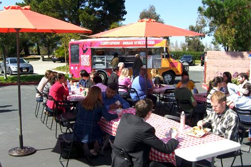 One Startup's 'Free Food Truck Fridays' Experiment