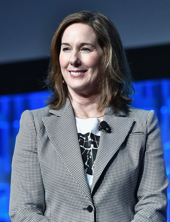 Disney Renews Contract for 'Star Wars'Chief Kathleen Kennedy