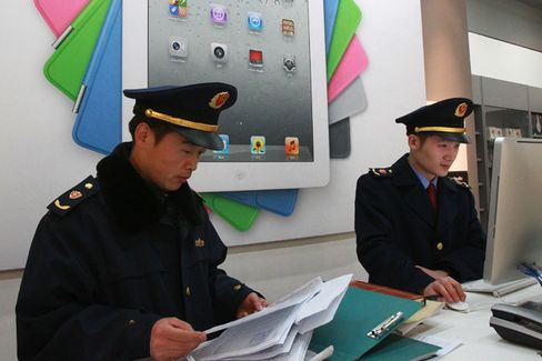 Chinese Officials Can Gloat Over Apple's IPad Woes
