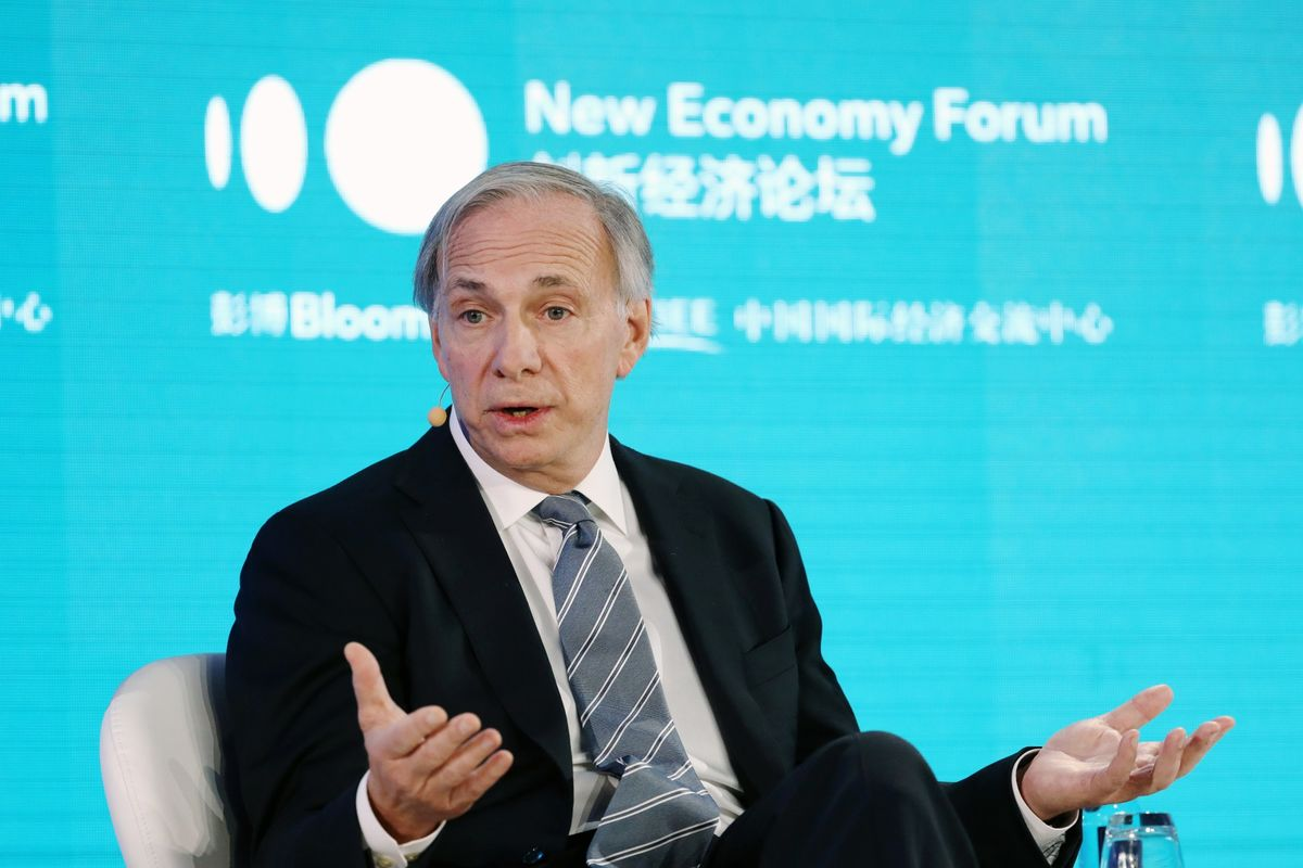 Ray Dalio Says Bridgewater Has No Net Short Bet Against Stocks