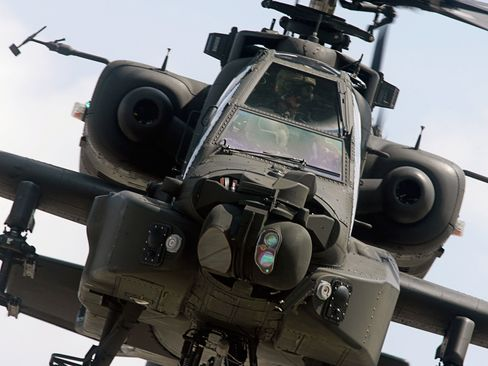 """A further delay occurred after the Ministry of Defence """"thought it owned existing training aircraft when it did not,"""" according to the report. Students who pass the training go on to pilot Wildcat helicopters for the Royal Navy, Apache helicopters for the Army and Typhoon jets for the Royal Air Force."""