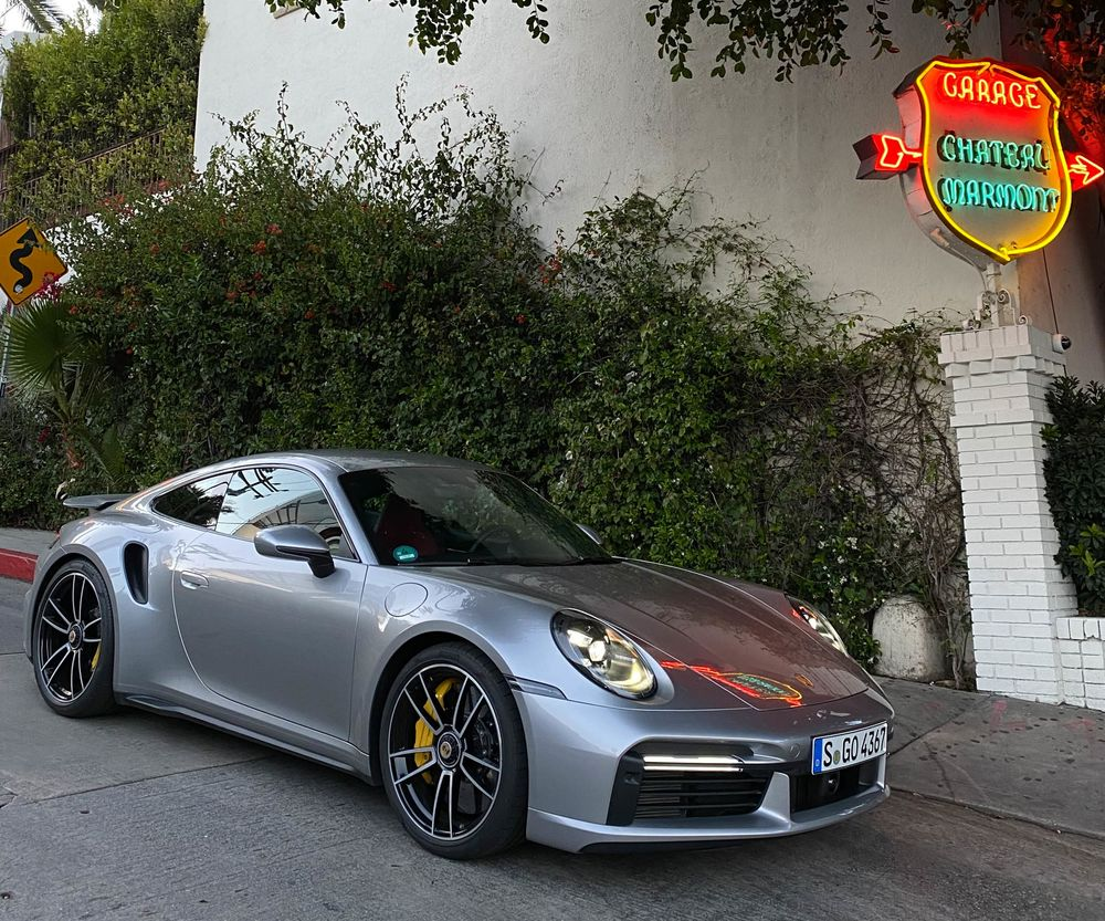 2021 Porsche 911 Turbo S Review A New Benchmark For Sports Cars Bloomberg