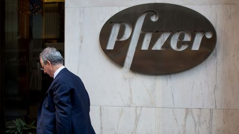 Pfizer Inc. Headquarters As They Agree To Combine With Allergan Plc In $160 Billion Deal