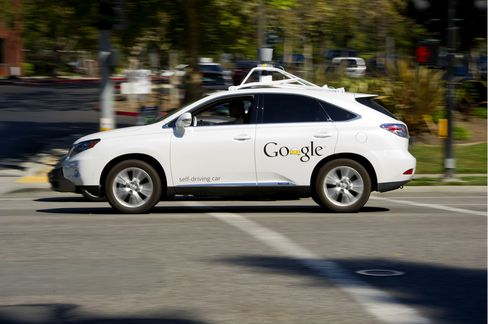 Driverless Cars Face Hacker Threat as Google Pushes Technology