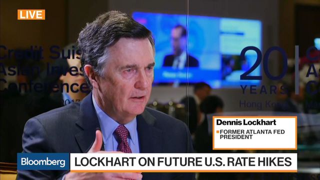 Fed has room for two more rate increases in 2017, Lockhart says