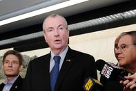 New Jersey Governor Murphy Examines Condition Of North River Tunnel Beneath Hudson River