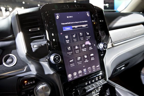 Ram's iPad-Size Touch Screen Emerges as Hottest Add-On in Trucks