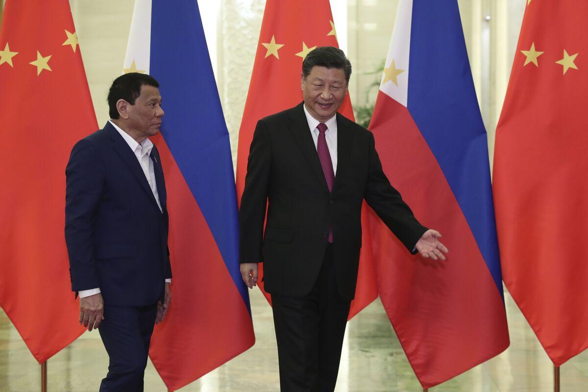A Filipino Battleground of the China-U.S. Cool War