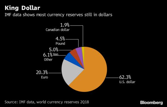 Euro Bid to Challenge King Dollar Collides With Political Risk