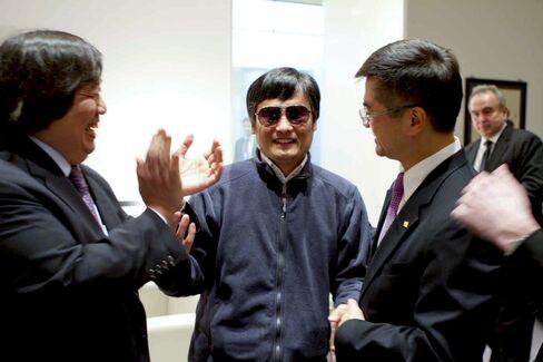 Rights Activist Chen Guangcheng