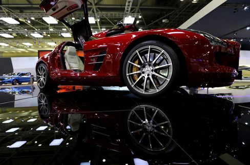 Mercedes Extends U.S. Luxury Lead Over BMW With Gain in April