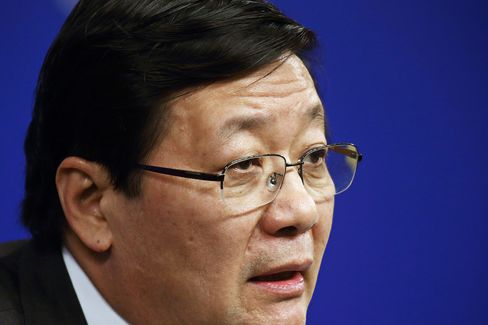 Lou Jiwei, China's finance minister.