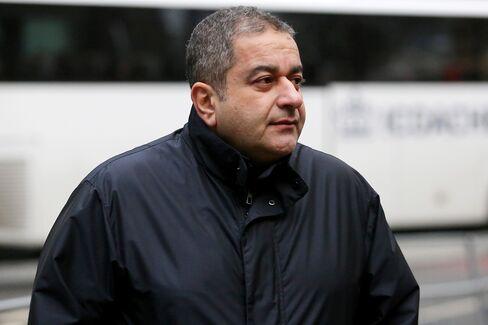 Iraj Parvizi arrives at Southwark Crown Court in London, on Jan. 14, 2016.