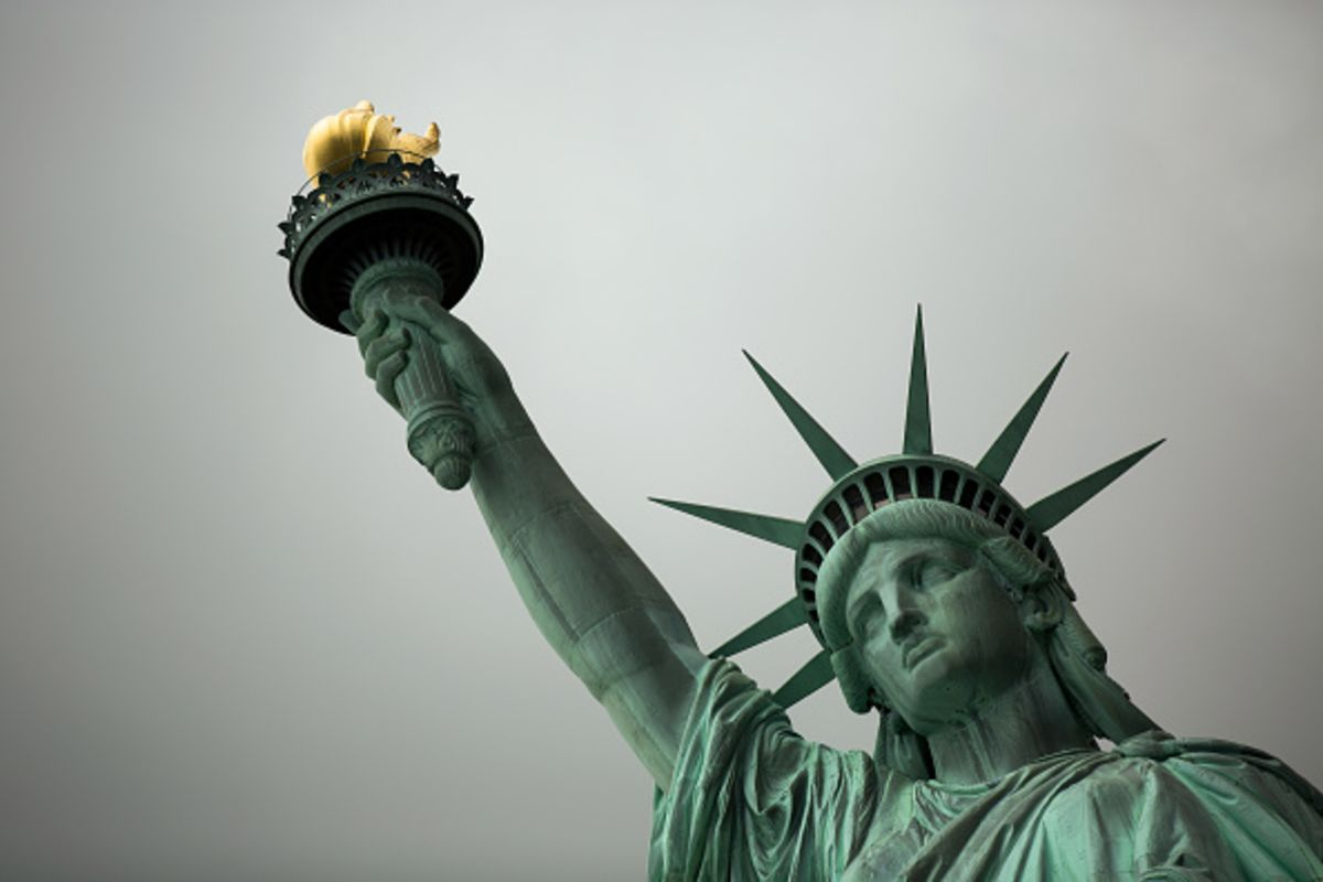 What Does the Statue of Liberty Stand For? - Bloomberg