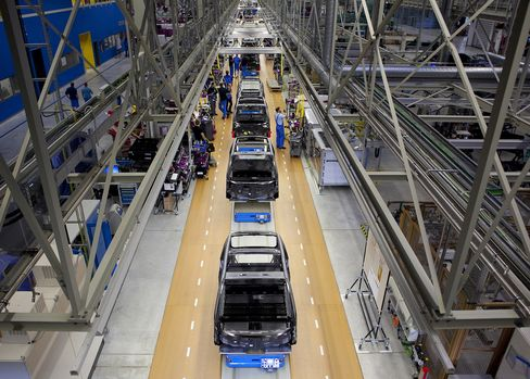 Manufacture Of BMW's i3 Battery-powered Automobile