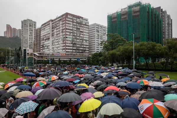 Hong Kong Braces For the 12th Weekend of Protests In Tsuen Wan and Kwai Tsing