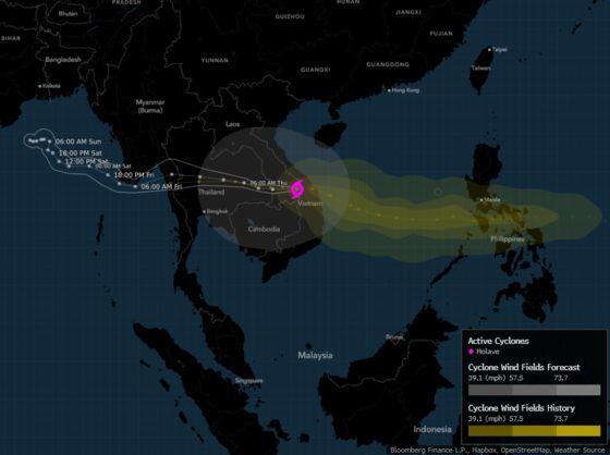 Typhoon Molave Kills 23 in Vietnam and Delays Coffee Harvest