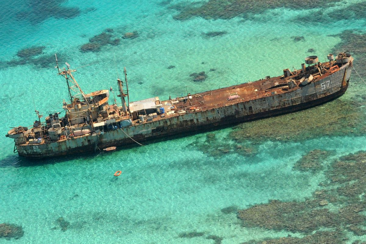 Philippines to File Protest Over China Ships Near Disputed Shoal