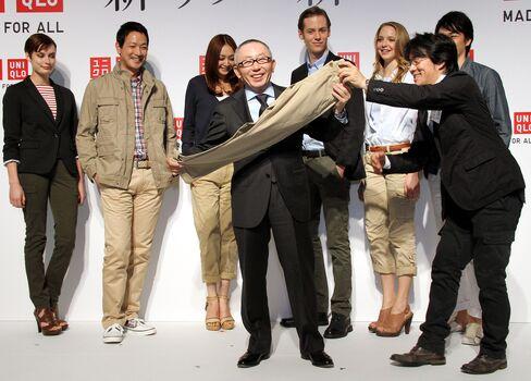 Fast Retailing Co. CEO Tadashi Yanai