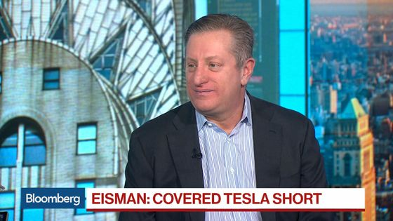 Big Short's Eisman Ends Bet Against Tesla, Calling It Cult-Like