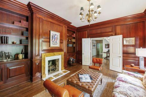 The interior was designed by celebrity decorator Jed Johnson.