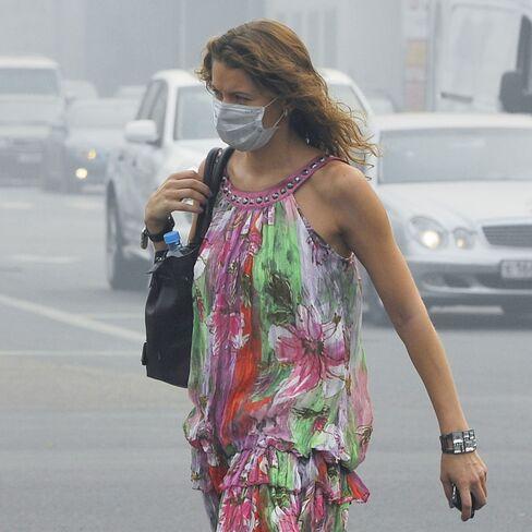 Muscovites Flee Worst Heat 'in 1,000 Years