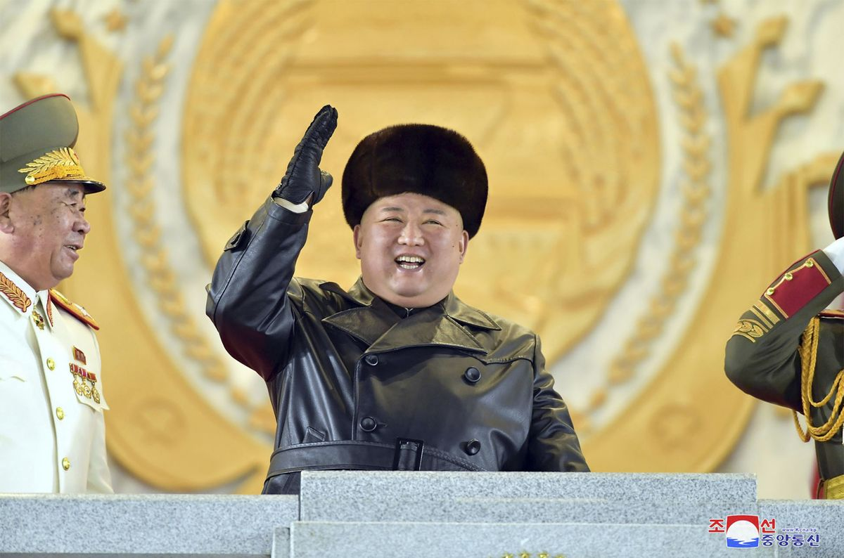 Kim Jong Un Unveils New Submarine Missile Threat as Trump Exits
