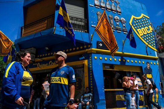 Argentina's Boca Juniors Soccer Club in Talks to Issue Tokens