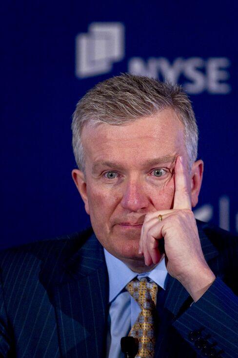 NYSE Euronext CEO Duncan Niederauer