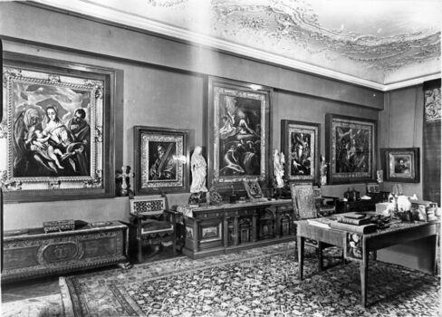Herzog's Study in Budapest