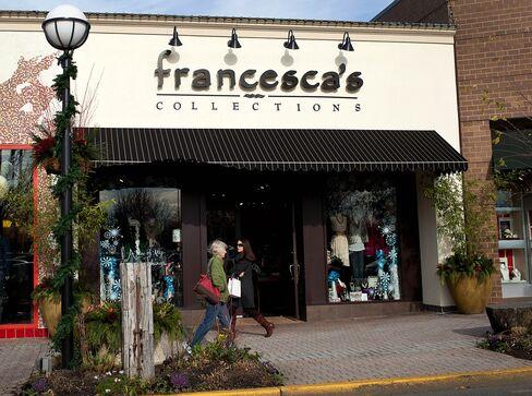 Francesca's Besting Lululemon Seen Enticing Buyers