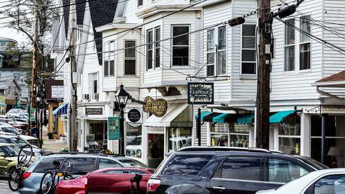 Downtown Vineyard Haven,  Matha's Vineyard, Massachusetts,