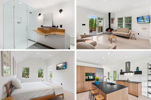 Clean and cozy spaces inside 52 Prospect St.