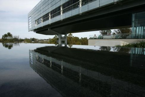 The Clinton Presidential Library is pictured on Nov. 17, 2004, in Little Rock, Ark.