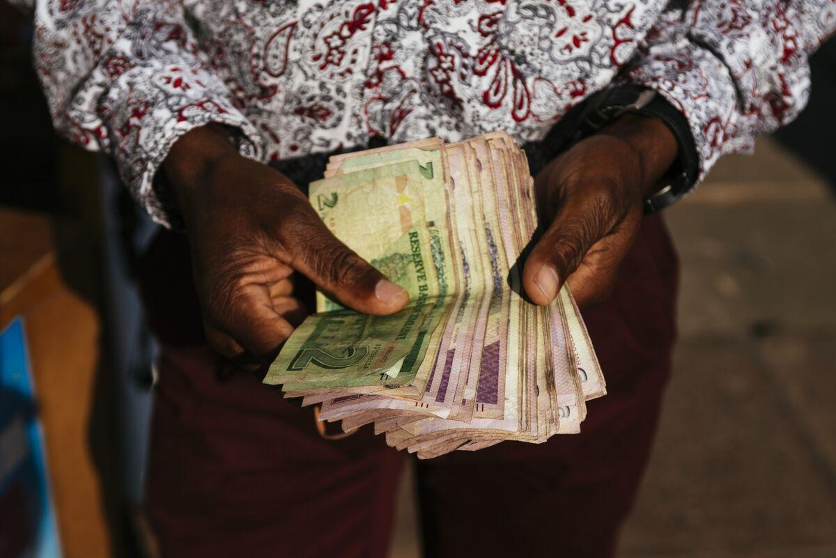 Zimbabwean Stocks Hit Record High as Inflation Soars Near 100%