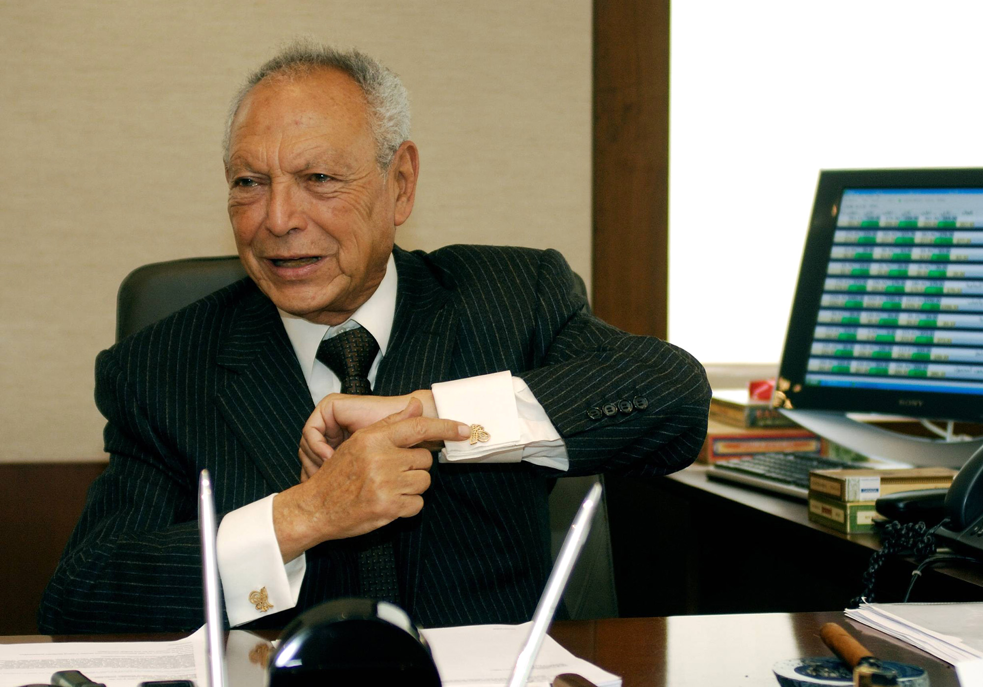 Onsi Sawiris, Patriarch of Egypt Billionaire Dynasty, Dies at 90 - Bloomberg