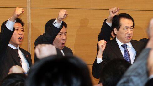 Naoto Kan, Japan's prime minister-elect