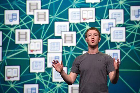 Facebook Inc CEO and Founder Mark Zuckerberg