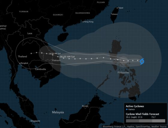 Philippines Evacuates Thousands as Typhoon Vamco Nears