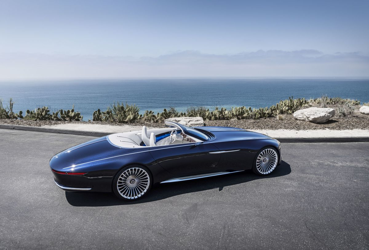 The New Mercedes-Maybach Concept Is a 20-Foot-Long Convertible