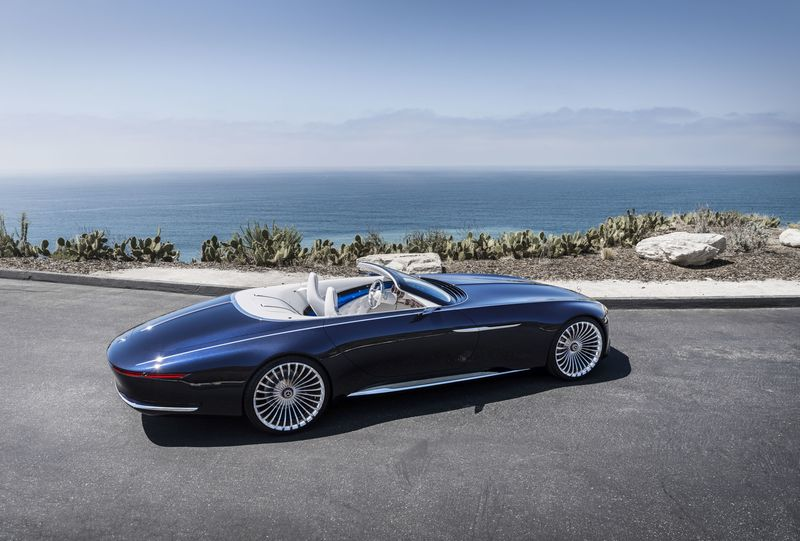 2018 maybach land yacht. brilliant 2018 the new mercedesmaybach concept is a 20footlong convertible inside 2018 maybach land yacht