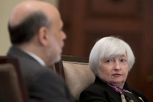Fed Chairman Ben S. Bernanke and Vice Chairman Janet Yellen
