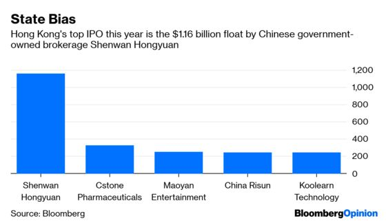 How the U.S. Stole Hong Kong's IPO Crown