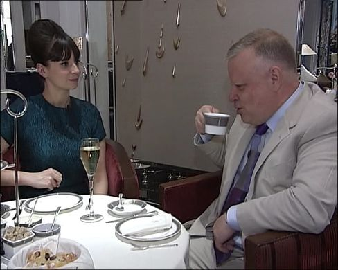 Gizzi Erskine and Richard Vines