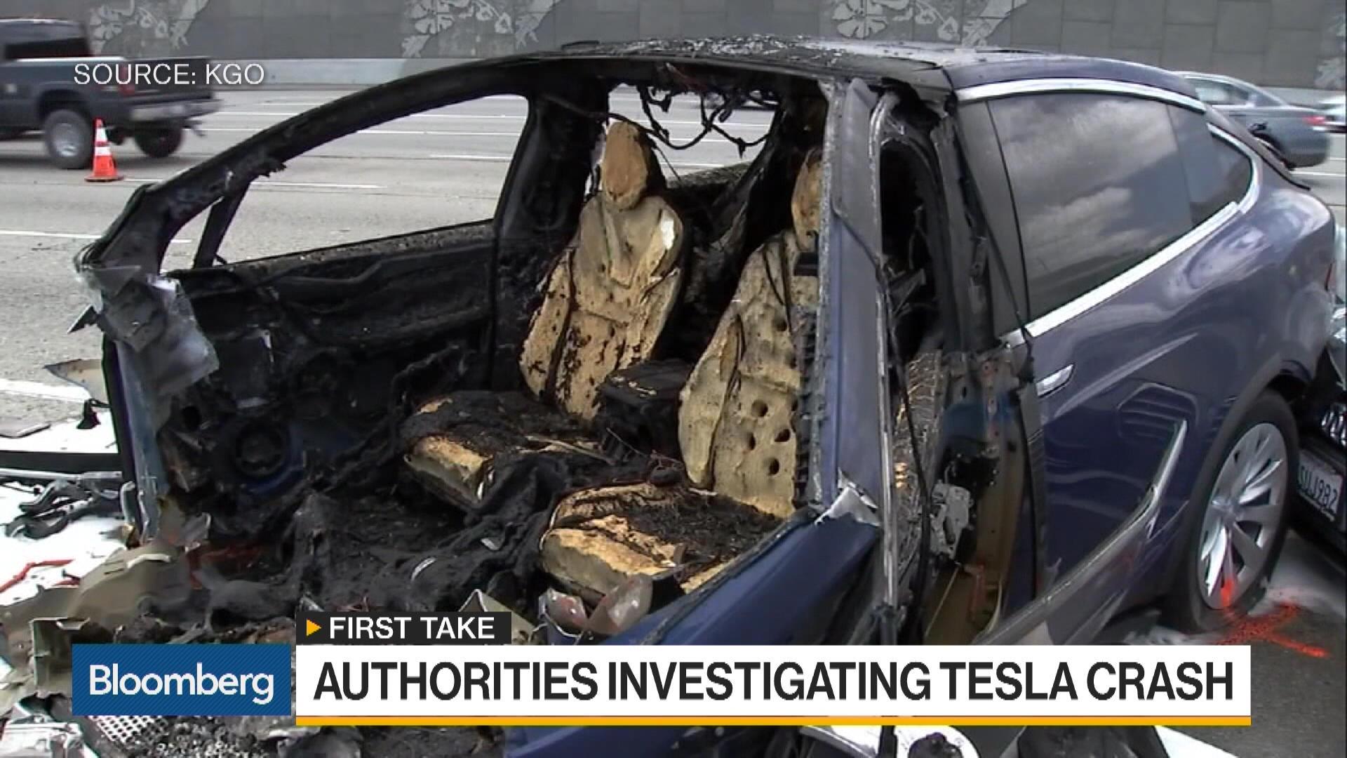 Tesla Unsure of Cause in Fatal Model X Crash – Bloomberg