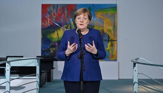 Merkel Says Germany to Do Whatever's Needed to Counter Virus