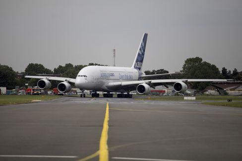 Airbus Confident of A380 Sales Goal After Doric's Order Splash