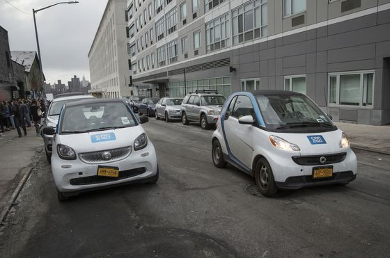 Car-Share Market That Eluded BMW, Audi Lures New Rival